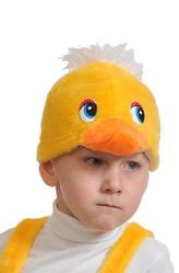 Парики и шляпы - Маска Желтый утенок