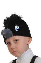 Парики и шляпы - Маска Черный ворон