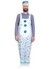 Снеговики - Плюшевый костюм Снеговик
