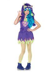 Монстрики - Подростковый костюм лилового монстрика