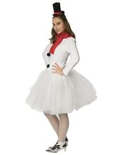 Снеговики - Подростковый костюм Снеговика