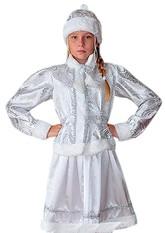 Снегурочки и Снежинки - Подростковый костюм Снегурочки