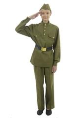 Военные и спецназ - Подростковый костюм военного