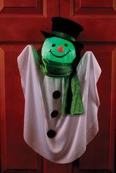 Декорации - Подвесной снеговик