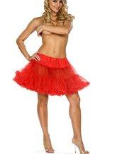 Подъюбники и юбки - Подъюбник большого размера красный