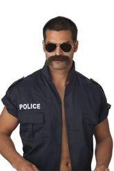 Борода и усы - полицейского