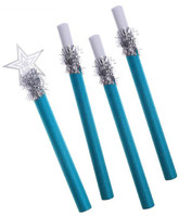 Дед Мороз - Посох синий со звездой