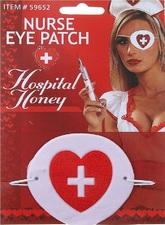 Для костюмов - Повязка на глаз для медсестры