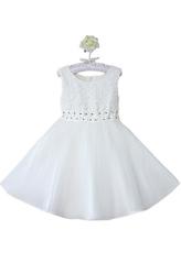 Платья для девочек - Принцесса в белом