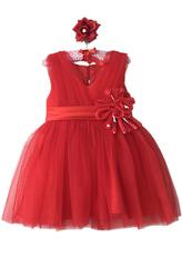 Платья для девочек - Принцесса в красном