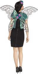Бабочки и Пчелки - Прозрачные черные крылья феи
