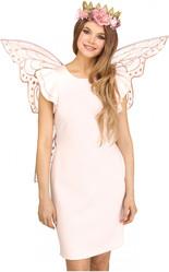 Бабочки и Пчелки - Прозрачные розовые феи