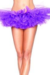 Аксессуары - Пурпурный короткий подъюбник