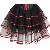 Аксессуары - Пышная юбка с красной лентой