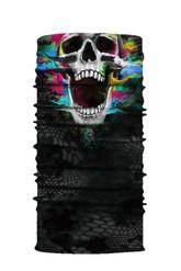 Скелеты и мертвецы - Разноцветная бандана с черепом