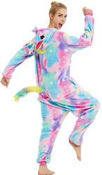 Женские костюмы - Разноцветный Единорог со звездами