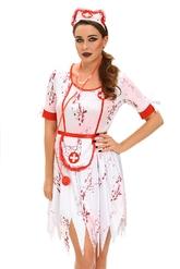 Медсестры - Разорванный костюм зомби медсестры