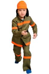 Профессии - Костюм Решительный пожарник