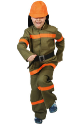 Пожарные - Костюм Решительный пожарник