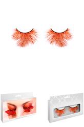 Ресницы и линзы - Ресницы Оранжевый восторг