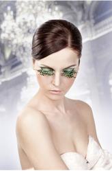 Женские костюмы - Ресницы Пёстрые перья