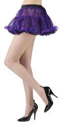 Подъюбники и юбки - Реверсивная туту юбочка фиолетово-черная