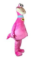 Динозавры - Ростовой костюм Розовый Дино