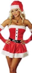 Санты и Снегурочки - Рождественское платье Санты