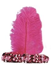 Ретро-костюмы 70-х годов - Розовая повязка на волосы