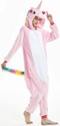 Единороги - Розовый Единорог с радужным хвостом