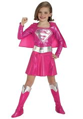 Супергерои и спасатели - Розовый костюм Супергел