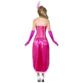 Спортсменки и Судьи - Розовый костюм танцовщицы бурлеска