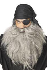 Пираты и разбойники - Седые борода усы пирата