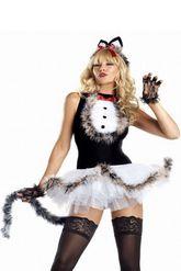 Животные и Звери - Секси костюм милой кошечки