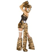 Леопарды и тигры - Секси костюм саблезубого тигренка