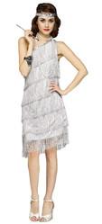 Чикаго - Серебристый костюм модницы из 20-х