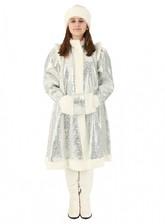 Снегурочки и Снежинки - Серебряный костюм Снегурочки