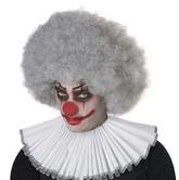 Клоунессы - Серый кудрявый парик клоуна