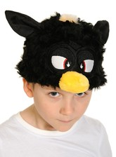 Шапочка-маска Ферби черная