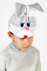 Зайчики и Кролики - Шапочка-маска Зайка