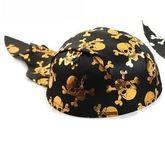Пираты и разбойники - Шляпа-бандана с черепками