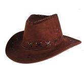 Ковбои и индейцы - Шляпа ковбойская темная