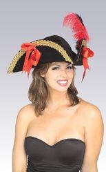 Пиратки - Шляпа пиратская треугольная
