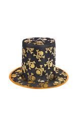 Мужские костюмы - Шляпа с золотистыми черепами