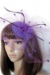 Маленькие шляпки - Шляпка Фиолетовая паутинка