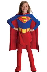 Супермен - Костюм Симпатичная Супергёрл делюкс