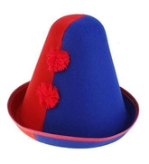 Клоуны - Сине-красная шапка клоуна