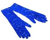 Ретро-костюмы 20-х годов - Синие перчатки Бурлеск