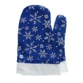 Дед Мороз - Синие варежки Деда Мороза со снежинками