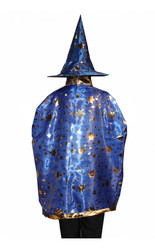 Костюмы для девочек - Синий комплект волшебника